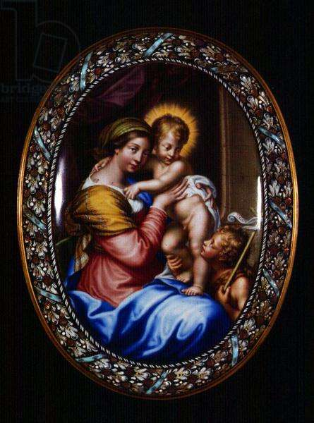 Virgin and Child and St. John