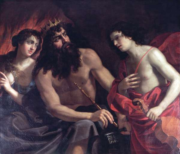 Pluto, Orpheus and Eurydice