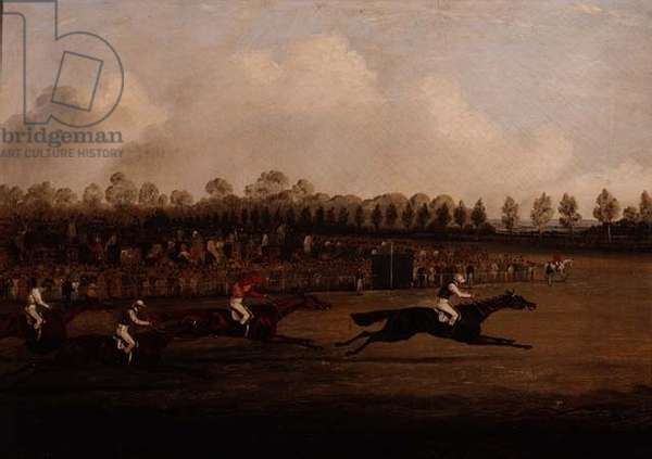 Finish of the Doncaster St. Leger, 1827