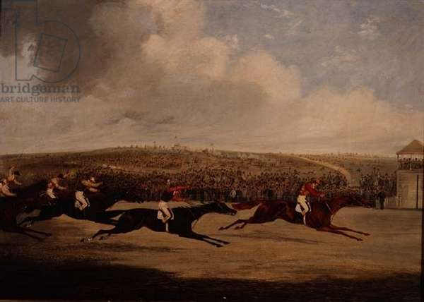 Winning of the Derby, 1947 (oil on canvas)