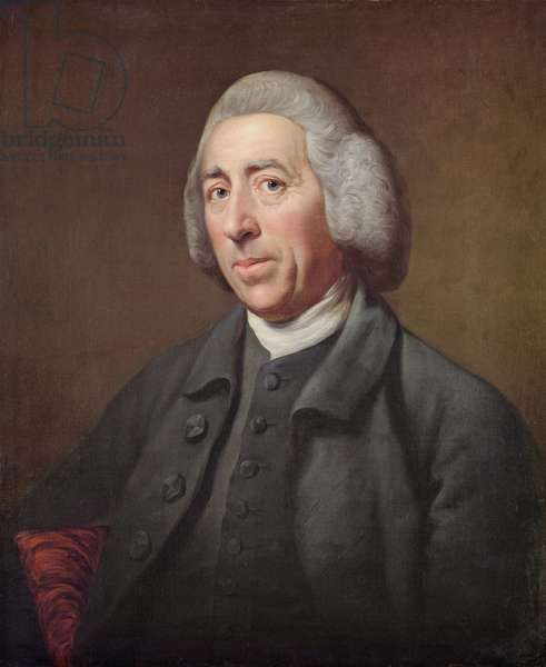 Portrait of Lancelot Capability Brown (1716-83)