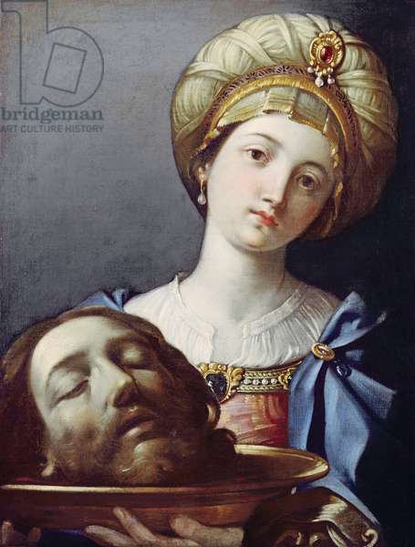 Herodias, with head of John the Baptist