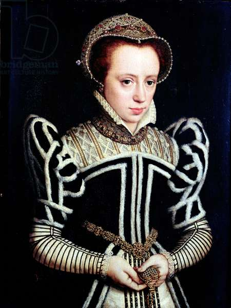 Portrait of a Lady, possibly Mary Queen of Scots (oil)