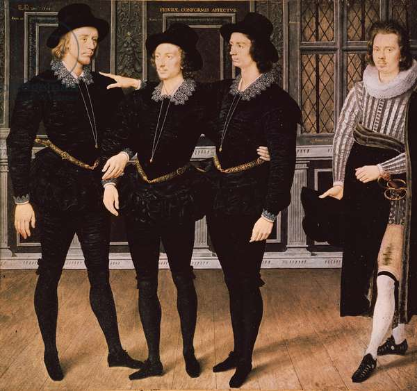 The Browne Brothers, 1598 (gouache & w/c on vellum)