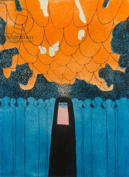 Souk, 1972 (etching & aquatint)