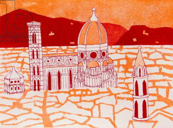 Duomo, 1965-66 (etching & aquatint)
