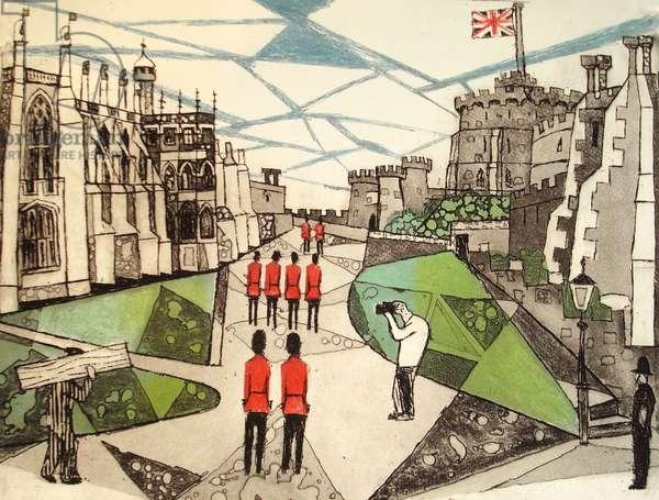 Windsor Castle (aquatint)