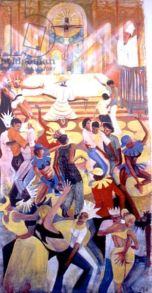Victory over Sin, 1993 (oil on canvas)