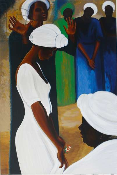 Sharon's Blessings, 1986 (oil on canvas)