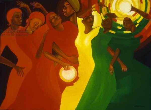 Spiritual Climax, 1993 (oil on canvas)