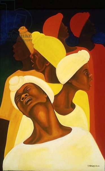 Hymn in the Night, 1994 (oil on canvas)