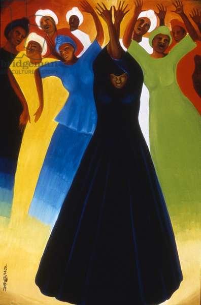 Velvet Spirit, 1994 (oil on canvas)
