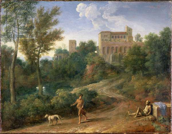 Classical Landscape with Figures, c.1672-5