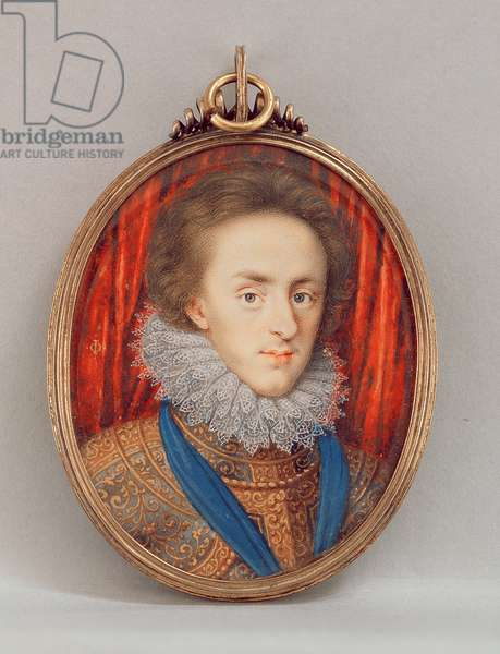 Portrait of Henry, Prince of Wales (1594-1612) c.1610 (w/c on vellum)