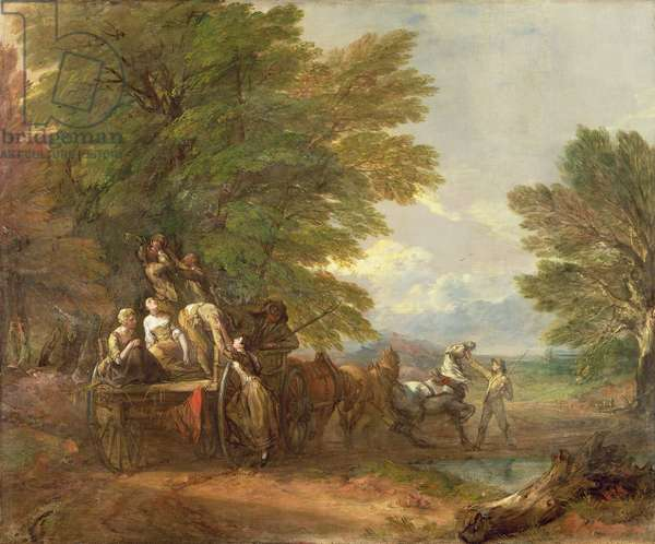 The Harvest Wagon, c.1767