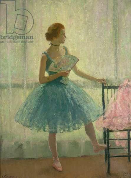The Ballet Girl, 1917 (oil on canvas)