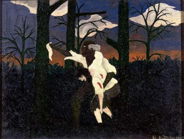 Zachariah, 1943 (oil on canvas)