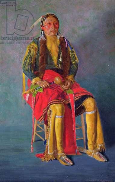 Bon-i-ta, 1897 (oil on canvas)