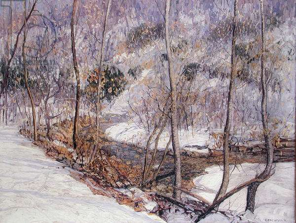 Laurel Run, 1916 (oil on canvas)
