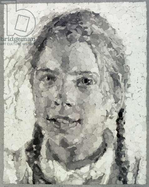 Georgia, 1984 (acrylic on paper)