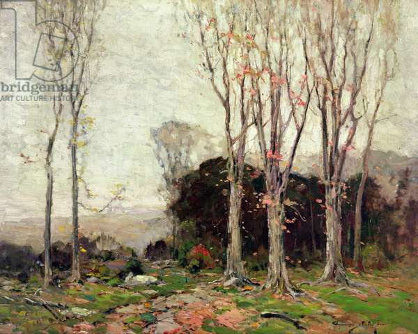 The Path Down the Mountains, 1912 (oil on canvas)