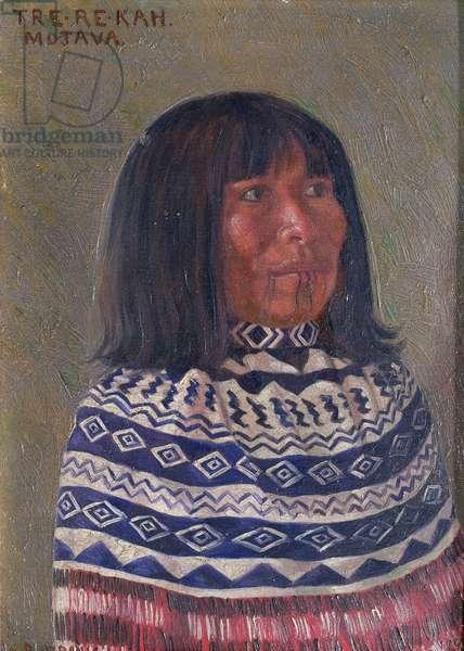 Tre-re-kah, 1898 (oil on panel)