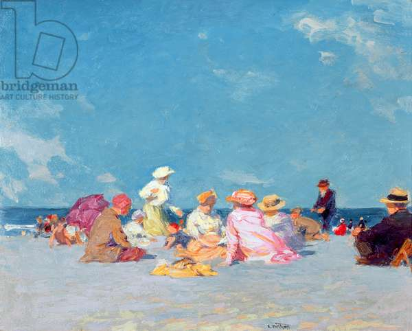 Afternoon Fun, c.1907-27 (oil on canvas)