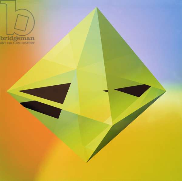 Octrahedron, 2001 (giclee-petgloss)