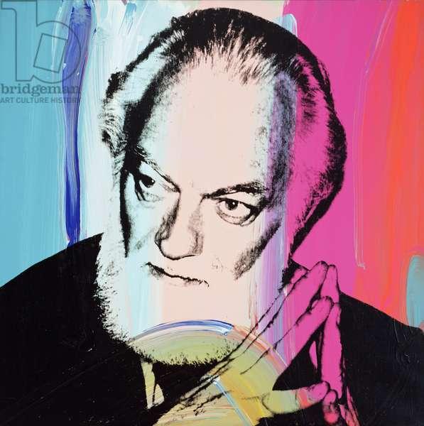 Paul Jenkins, 1979 (silkscreen & acrylic on canvas)