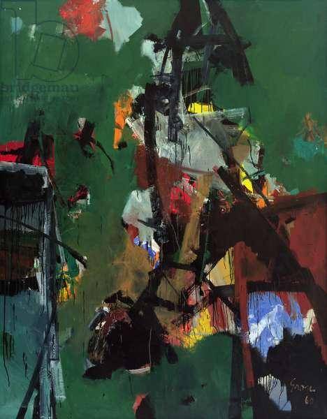 Composition #10, 1960 (oil on canvas)