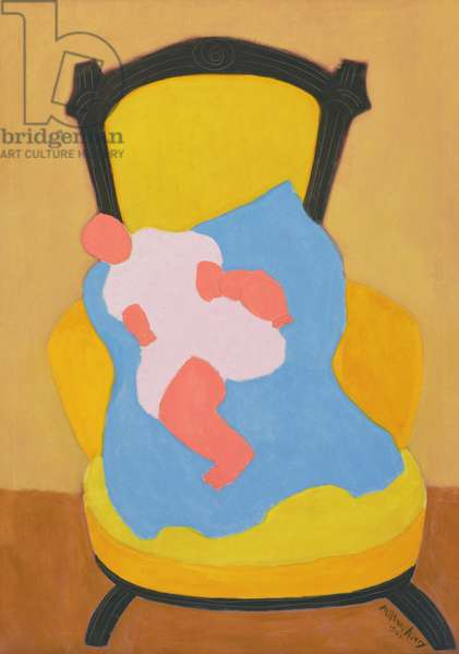 The Baby, 1949 (oil on canvas)