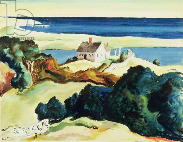 Chilmark, 1938 (w/c on paper)