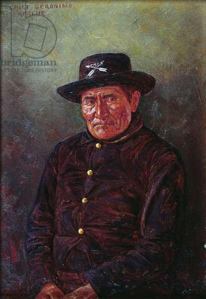 Chief Geronimo (oil on canvas)