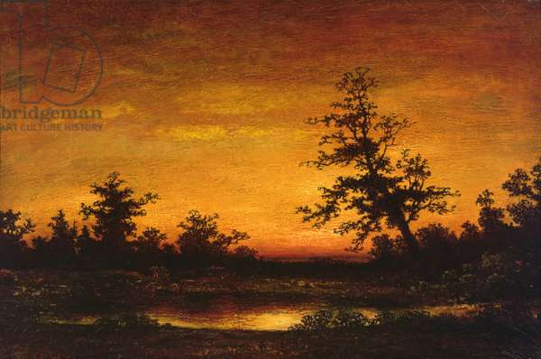Twilight, 1898 (oil on canvas)
