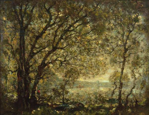 Long Pond, 1907 (oil on canvas)