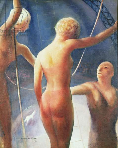 Trapeze Performers, 1931 (oil on canvas)