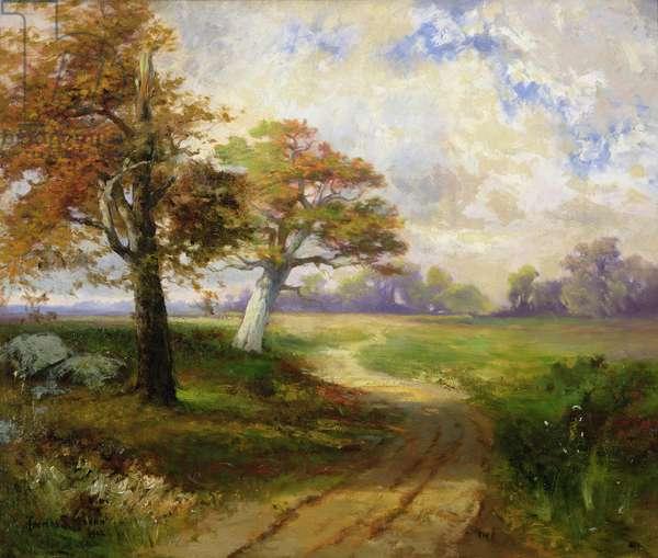 Autumn Scene, 1902 (oil on canvas)