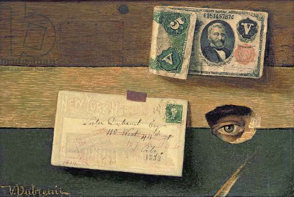 The Eye of the Artist, c.1898 (oil on canvas)