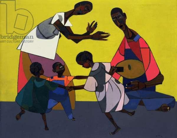 Children Dancing, 1948 (oil on canvas)
