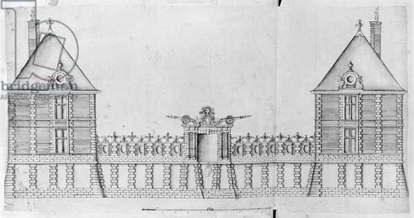 Ms 1001 fol 33-36, Chateau de Rosny