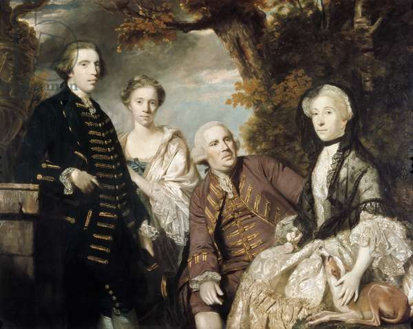 The Roffey Family, 1765 (oil on canvas)