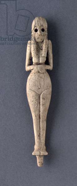 Figure of a standing woman, 4000-3600 BC (ivory)