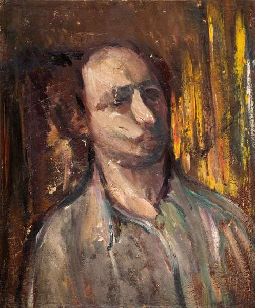 Self Portrait, 1937 (oil on thick cardboard)