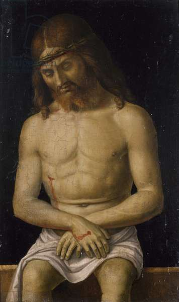 The Dead Christ, c.1500 (oil on panel)