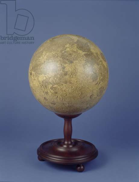 The Lunar Globe, 1745-1806
