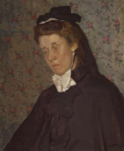 The Nurse (oil on canvas)