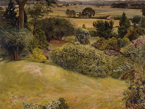 Rock Gardens, Cookham Dean, 1940-47 (oil on canvas)