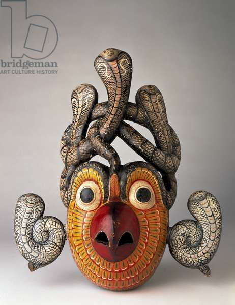 Gurulu demon mask, early 20th century (wood)