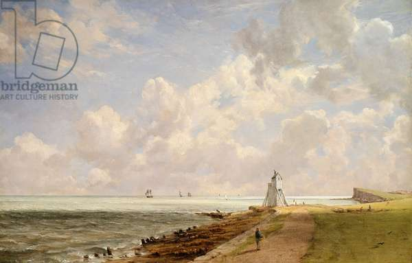 Harwich Lighthouse (oil on canvas)