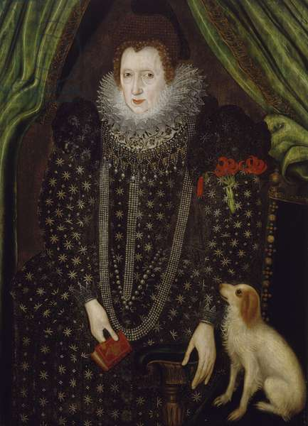Portrait of a Lady, 1600-1700 (oil on panel)